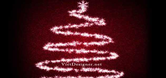 Cách tạo cây thông lung linh cho ngày lễ giáng sinh bằng Photoshop