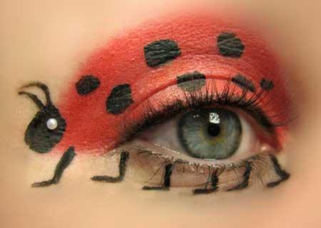 Những kiểu make-up độc đáo và gợi cảm