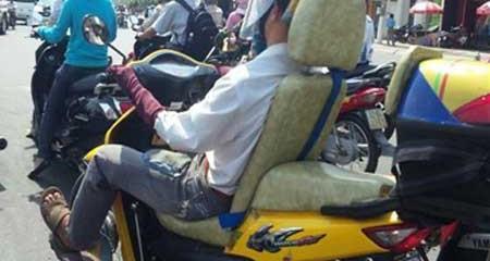 Những kiểu giao thông độc đáo chỉ có ở Việt Nam