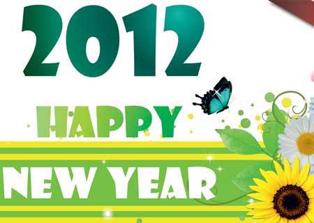Bộ 43 hình nền dành riêng cho năm mới 2012