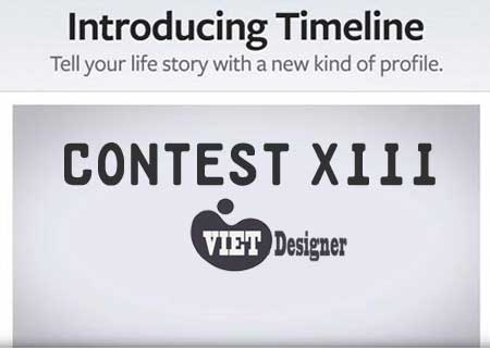 Contest XIII - Thiết kế giao diện Timeline Facebook