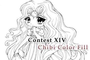 Contest XIV - Tập tô màu tranh vẽ Chibi