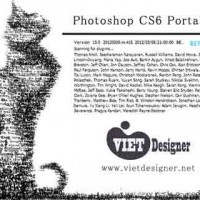 Download Portable Photoshop CS6 - Bn rt gn khng cn ci t