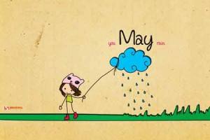Bộ wallpaper tháng 5 năm 2012 (kèm theo lịch và không có lịch)