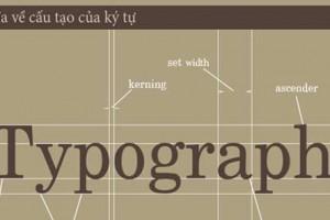 Các quy ước và định nghĩa cơ bản về ký tự trong Typography