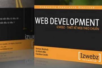 Download bộ giáo trình học thiết kế web soạn thảo bởi Izwebz