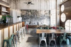 Tạo không gian quán cà phê bằng 3Ds Max