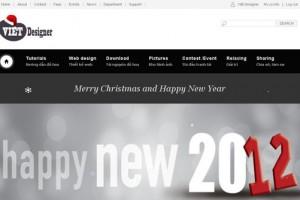 Nào cùng nhau thay đổi giao diện Web chào đón giáng sinh