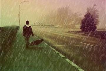 Cách tạo cơn mưa bằng Photoshop
