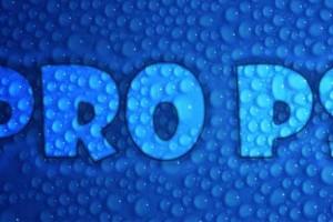Hiệu ứng lồng text vào nền giọt nước với vài bước đơn giản