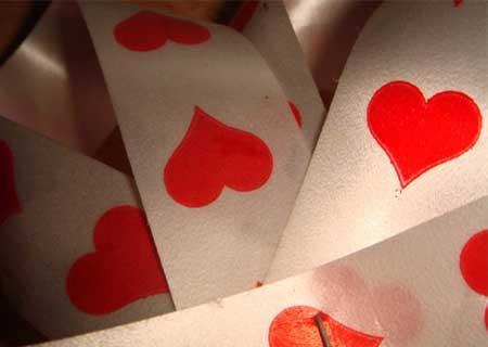 Hơn 200 mẫu Texture trái tim sặc sỡ cho Valentine thêm màu sắc