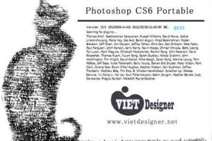 Download Portable Photoshop CS6 - Bản rút gọn không cần cài đặt