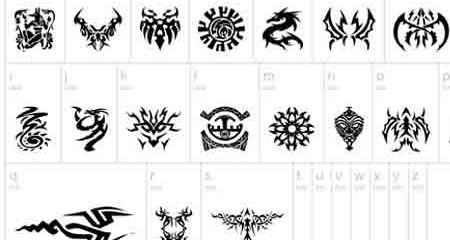 """26 bộ font chữ tattoo độc đáo và rất """"hầm hố"""""""
