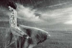 Cách tạo hiệu ứng mưa, tuyết và tia lửa điện trong Photoshop