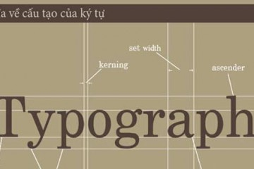 Các quy ước và định nghĩa cơ bản về ký tự trong Typography