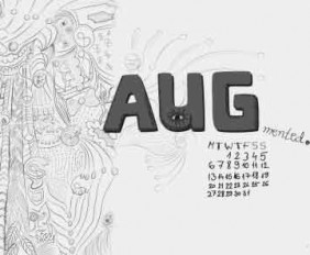 Bộ wallpaper tháng 8 năm 2012 (kèm theo lịch và không có lịch)