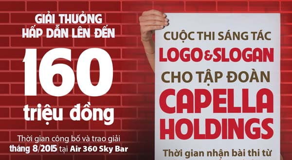 thiết kế logo capella holdings